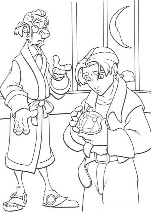 Treasure Planet 9 Coloring Pages