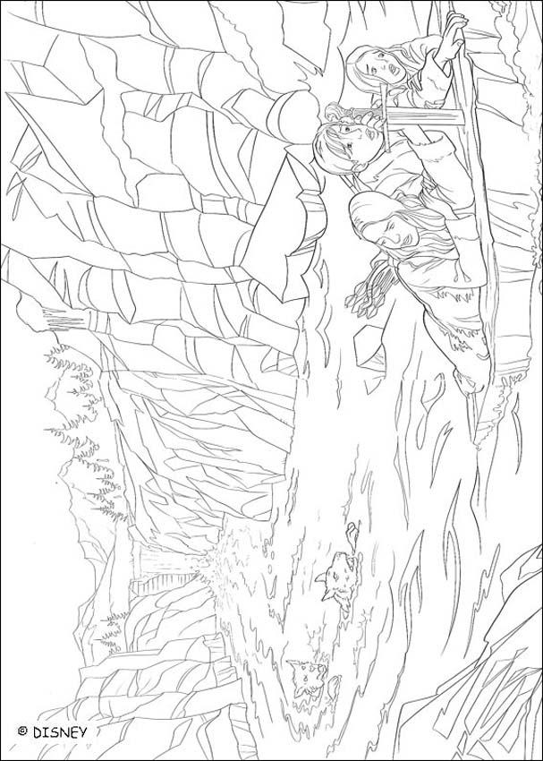 Mr Tumnus And Lucy Coloring Pages