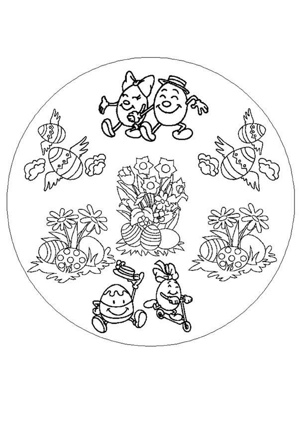 floor plans of medieval castles: advanced mandala coloring