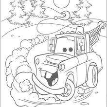 Cars 3 Lightning Mcqueen Coloring Pages Hellokids Com