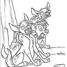 M/and The Hyenas Lion Guard Janja Coloring Pages Coloring