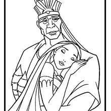 Pocahontas Coloring Pages 15 Free Disney Printables For Kids To Color Online