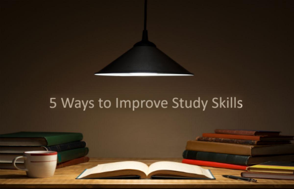 5 Ways To Improve Study Skills