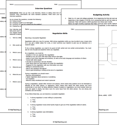 Free Life and Money Skills Worksheets [ 1093 x 1456 Pixel ]