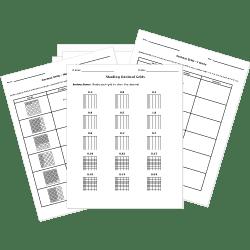 Free Printable DECIMALS Worksheets