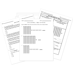 Free Printable PLACE VALUE Worksheets. Quiz online or print.