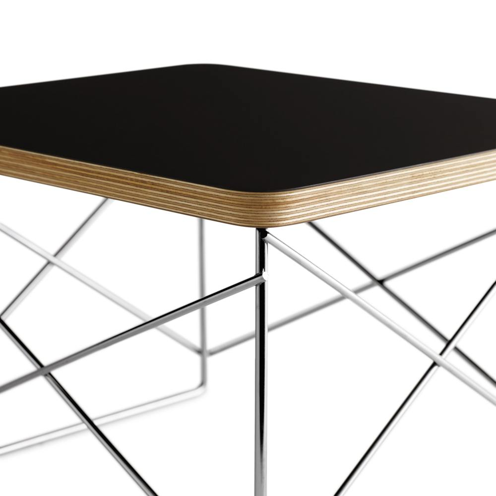 eames wire base low table design