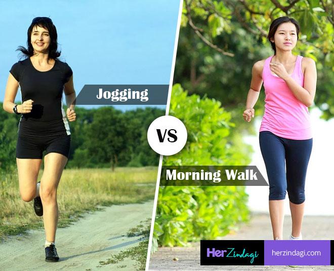 Brisk Walk Versus Jogging: Which Is Better?