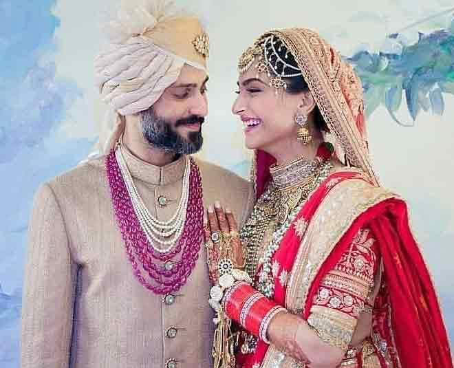 Anand Ahuja Married Sonam Kapoor Mangalsutra Anand Karaj Bollywood Wedding Inside in hindi