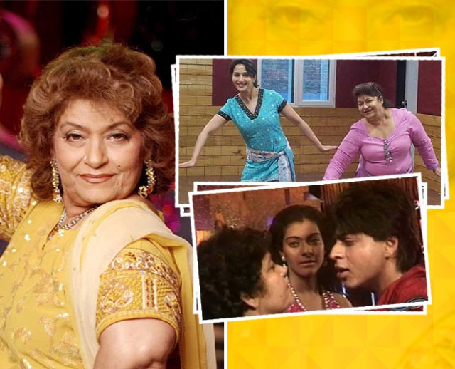 Saroj Khan Birthday Special Famous Actors Who Danced To Perfection ...