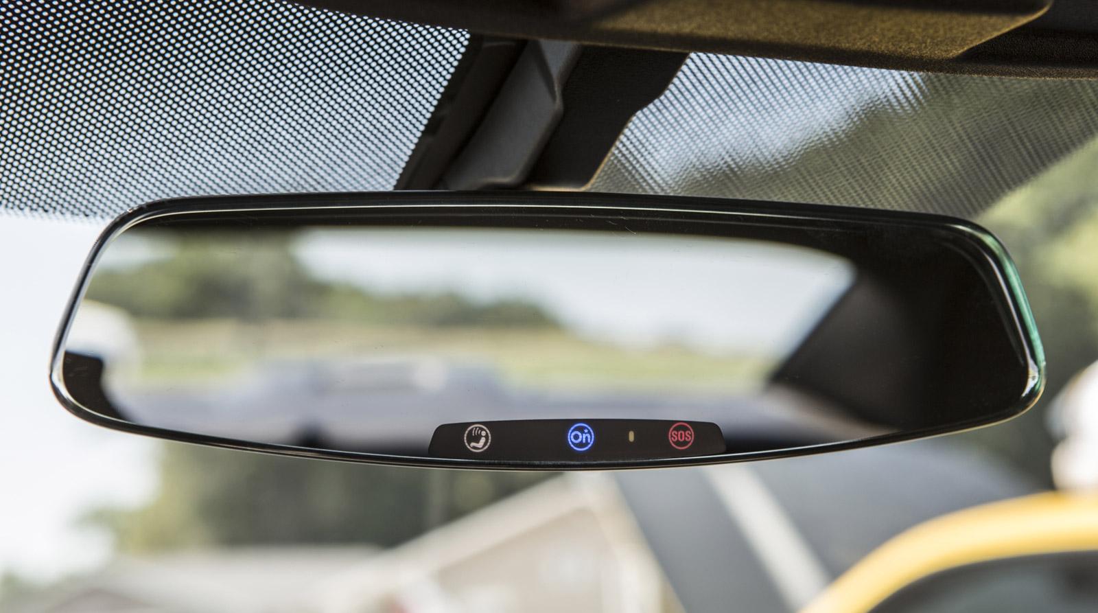 onstar wiring diagram dodge ram 1500 serpentine belt 2013 chevy camaro gets frameless rear-view mirror in revamp