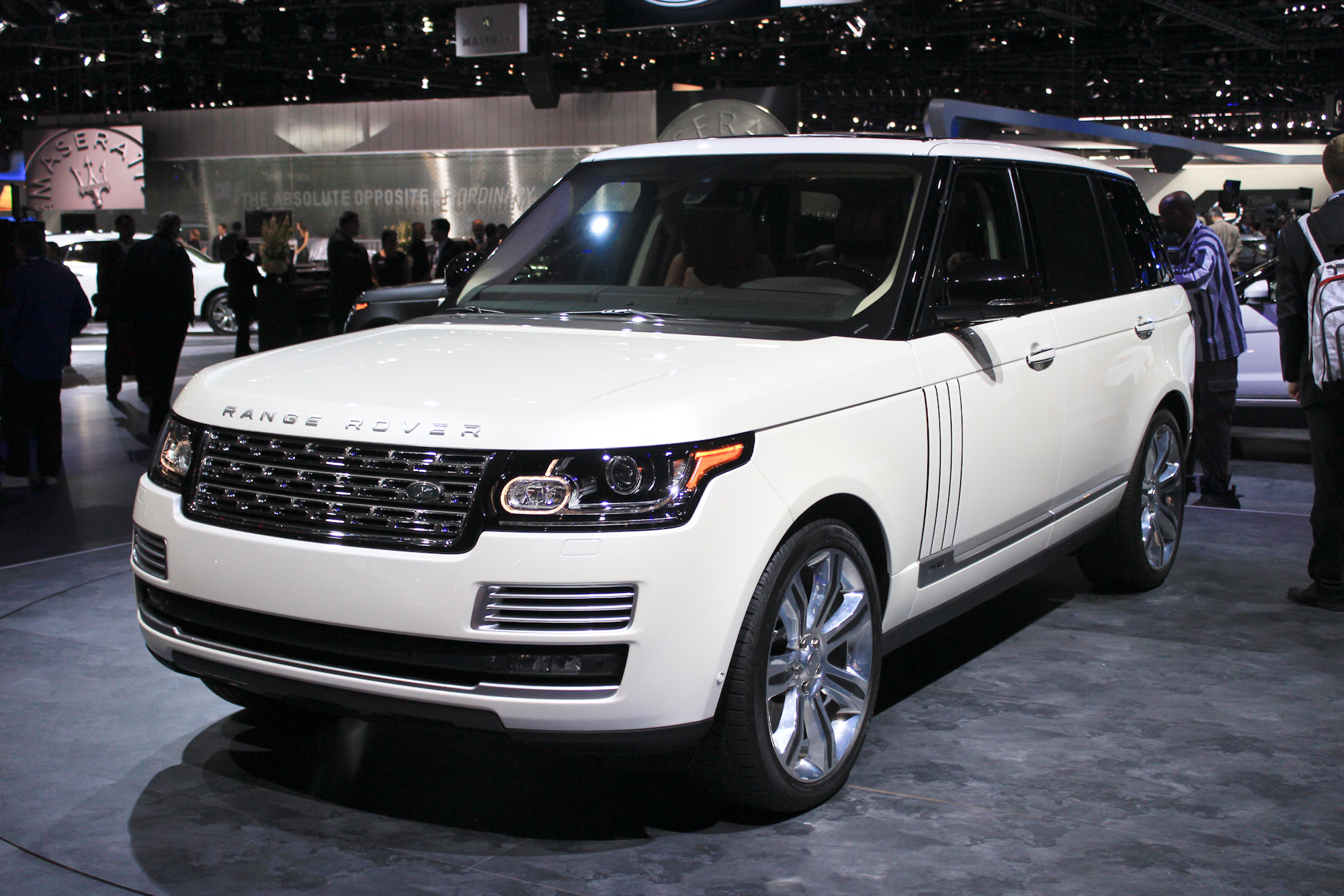 Latest Range Rovers Generate Four Month Waiting Lists