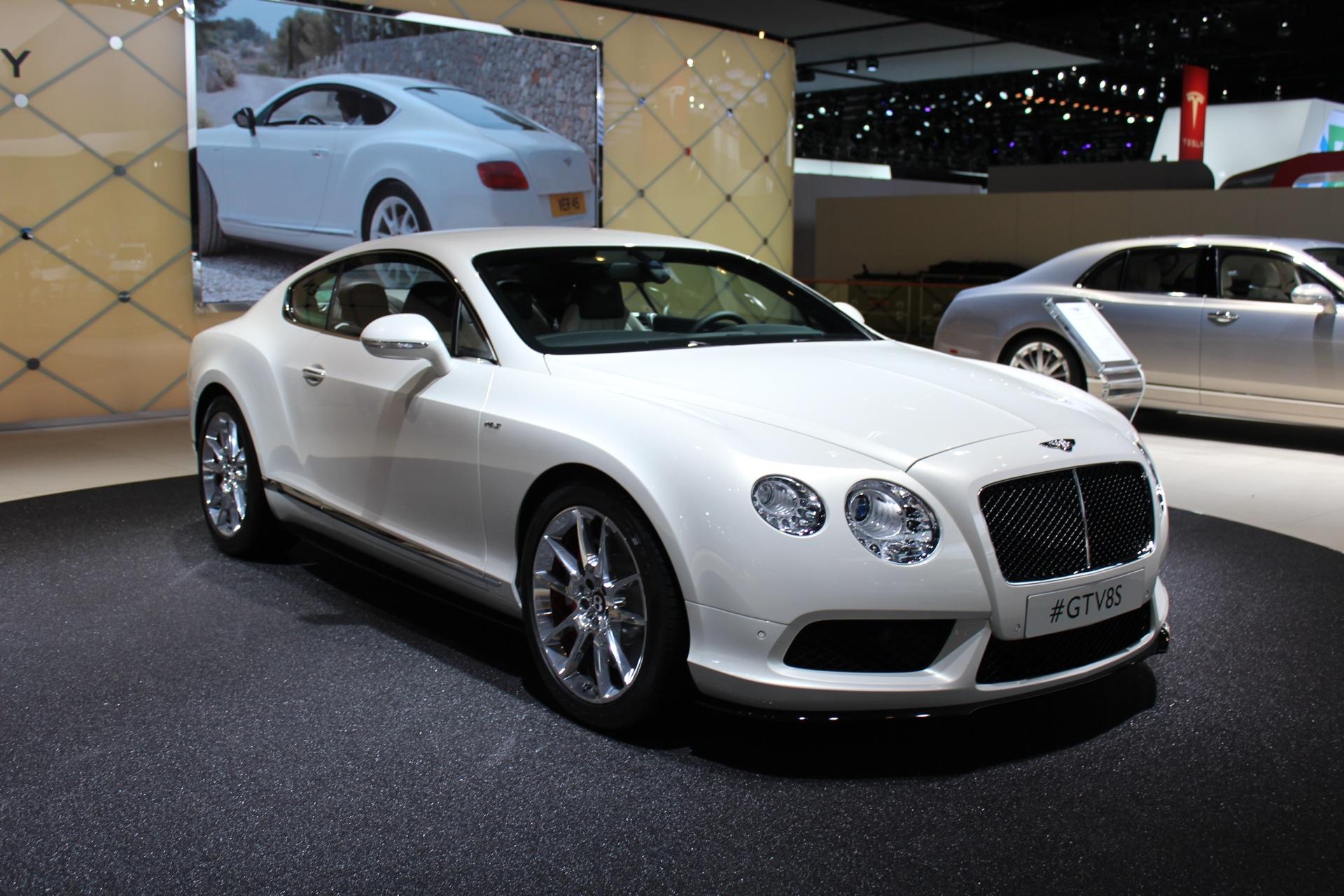 2014 Bentley GT V8 S Preview Live Photos 2014 Detroit