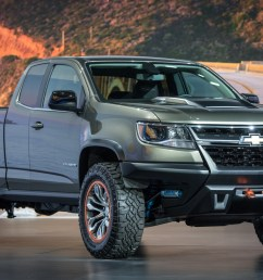 chevrolet colorado zr2 concept crawls into l a rh motorauthority com 2015 chevy colorado [ 1200 x 785 Pixel ]
