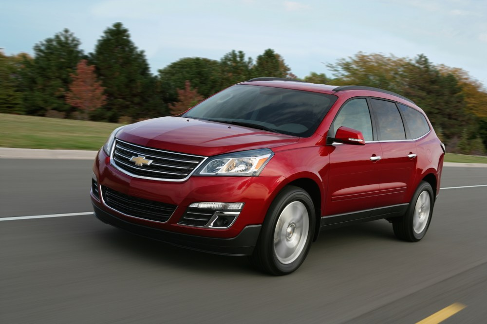 medium resolution of 2015 chevrolet traverse chevy review ratings specs prices and photos the car connection