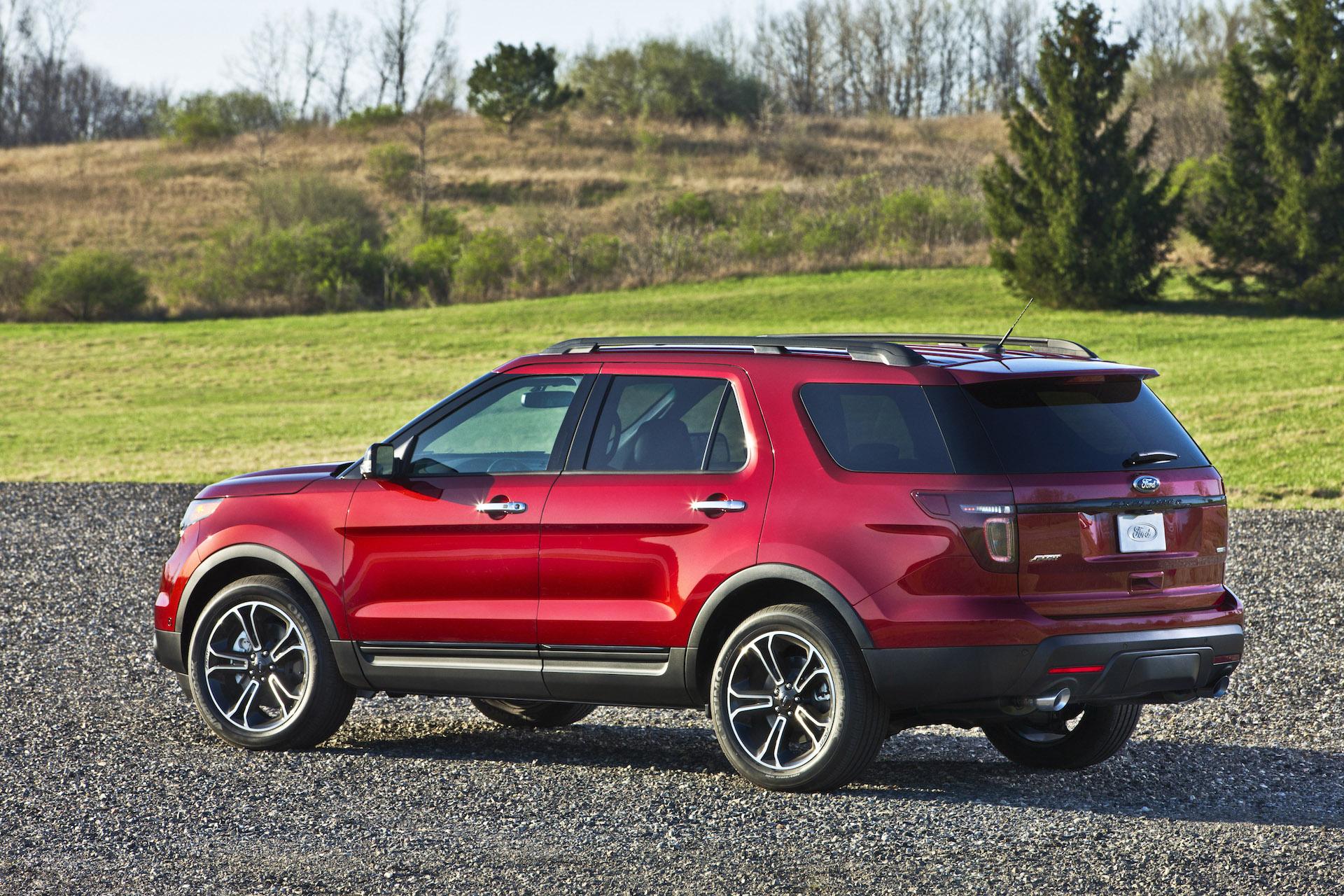 Next Ford Explorer To Adopt Rear Wheel Drive Platform
