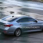2015 Hyundai Genesis Completely Revealed In New Spy Shots