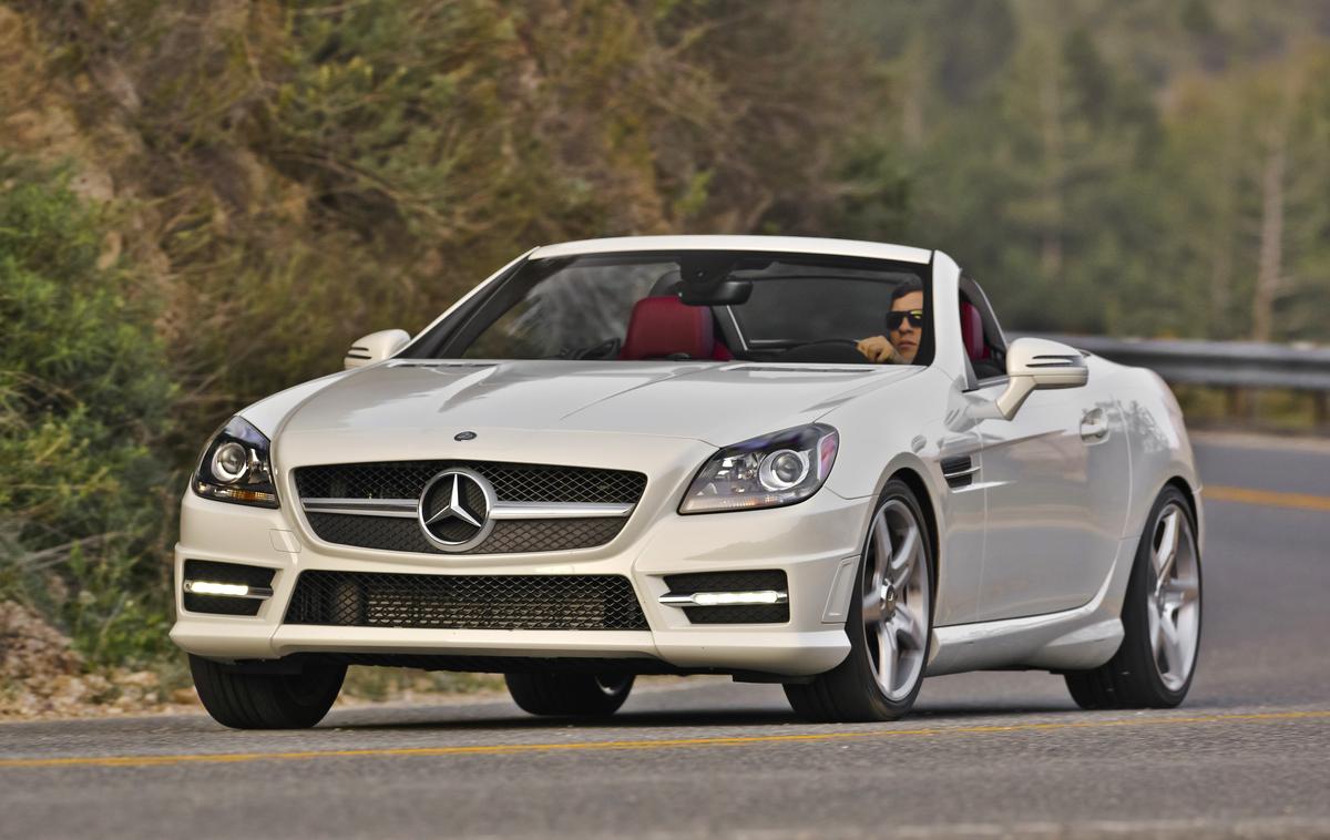 2016 Mercedes Benz SLK Gets A Few Updates Ahead Of 2017