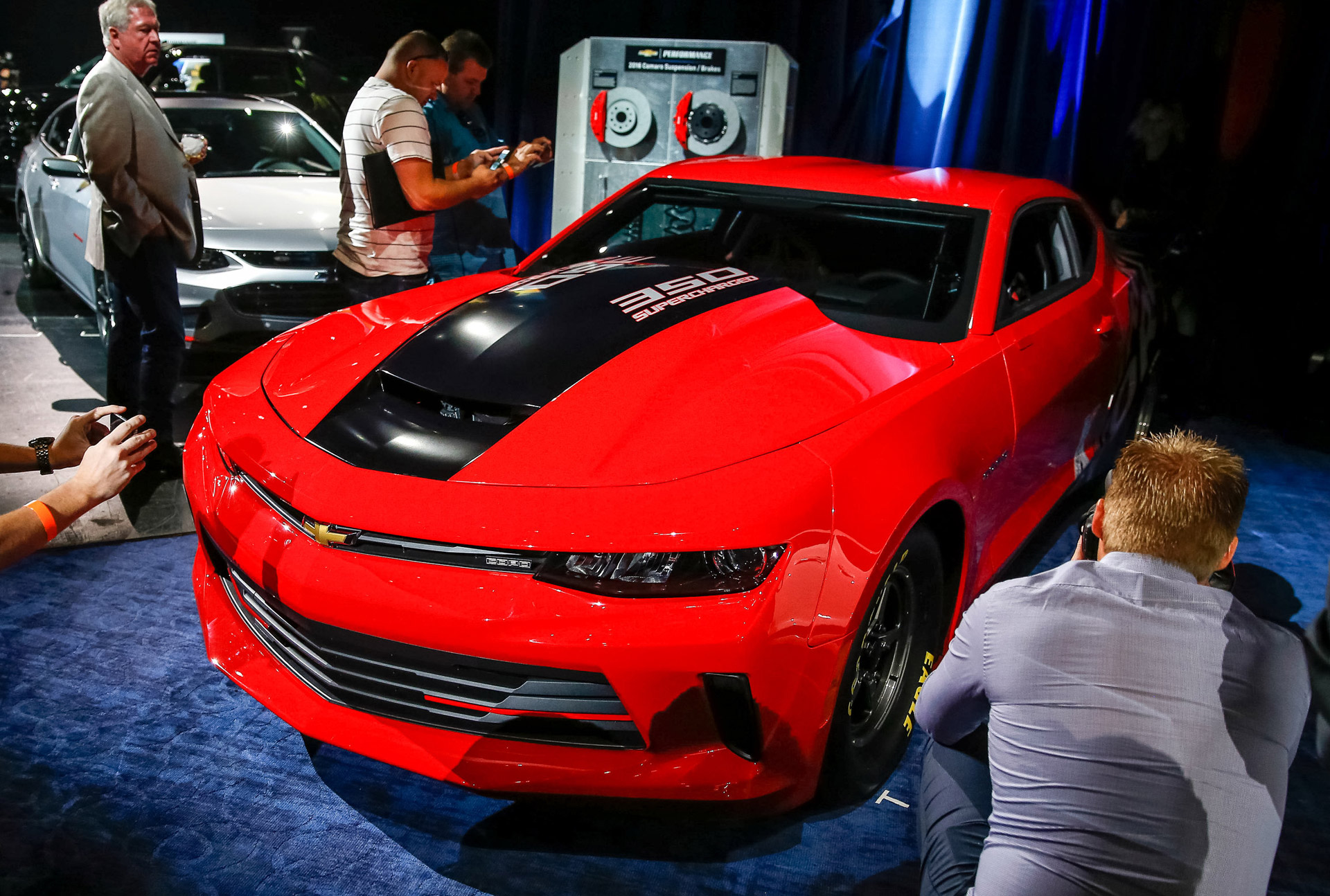 Camaros And Girls Wallpaper 2016 Chevy Copo Camaro Previewed With Courtney Force