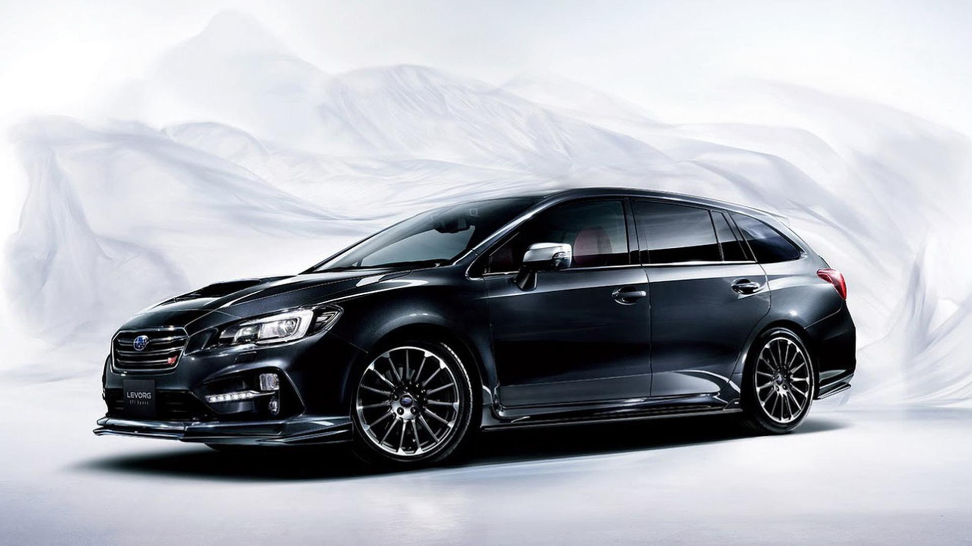 Subaru Levorg Sti Sport Revealed