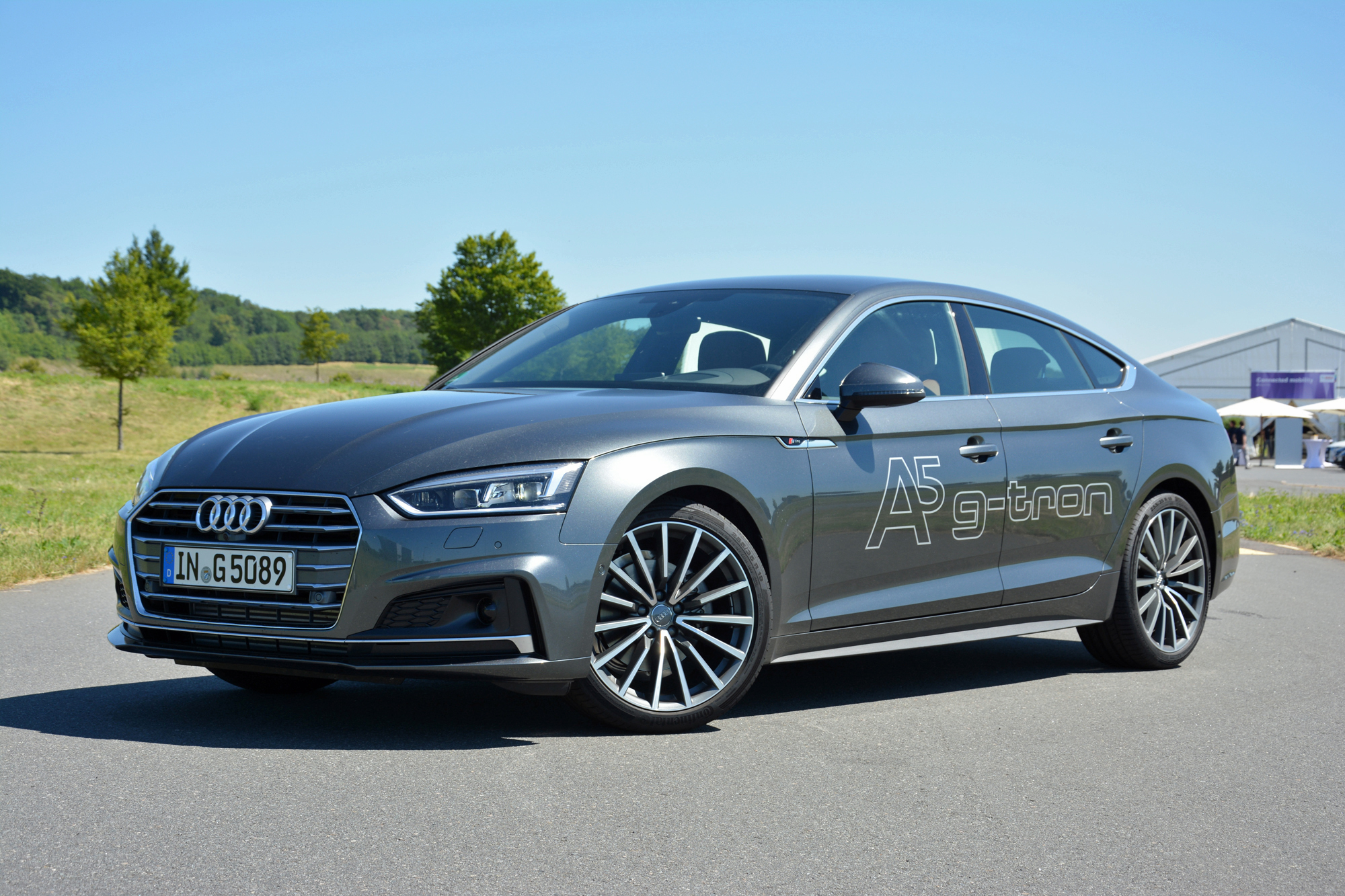 Audi A5 Sportback G-tron: First Drive Of Natural-gas