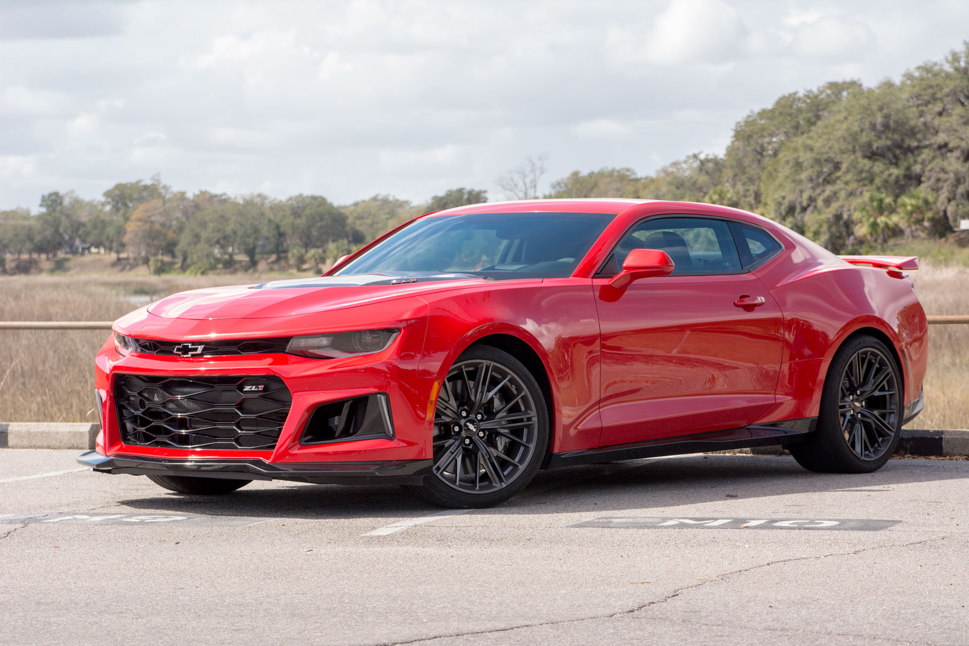 2017 Chevrolet Camaro Zl1 First Drive Review Too Fast To