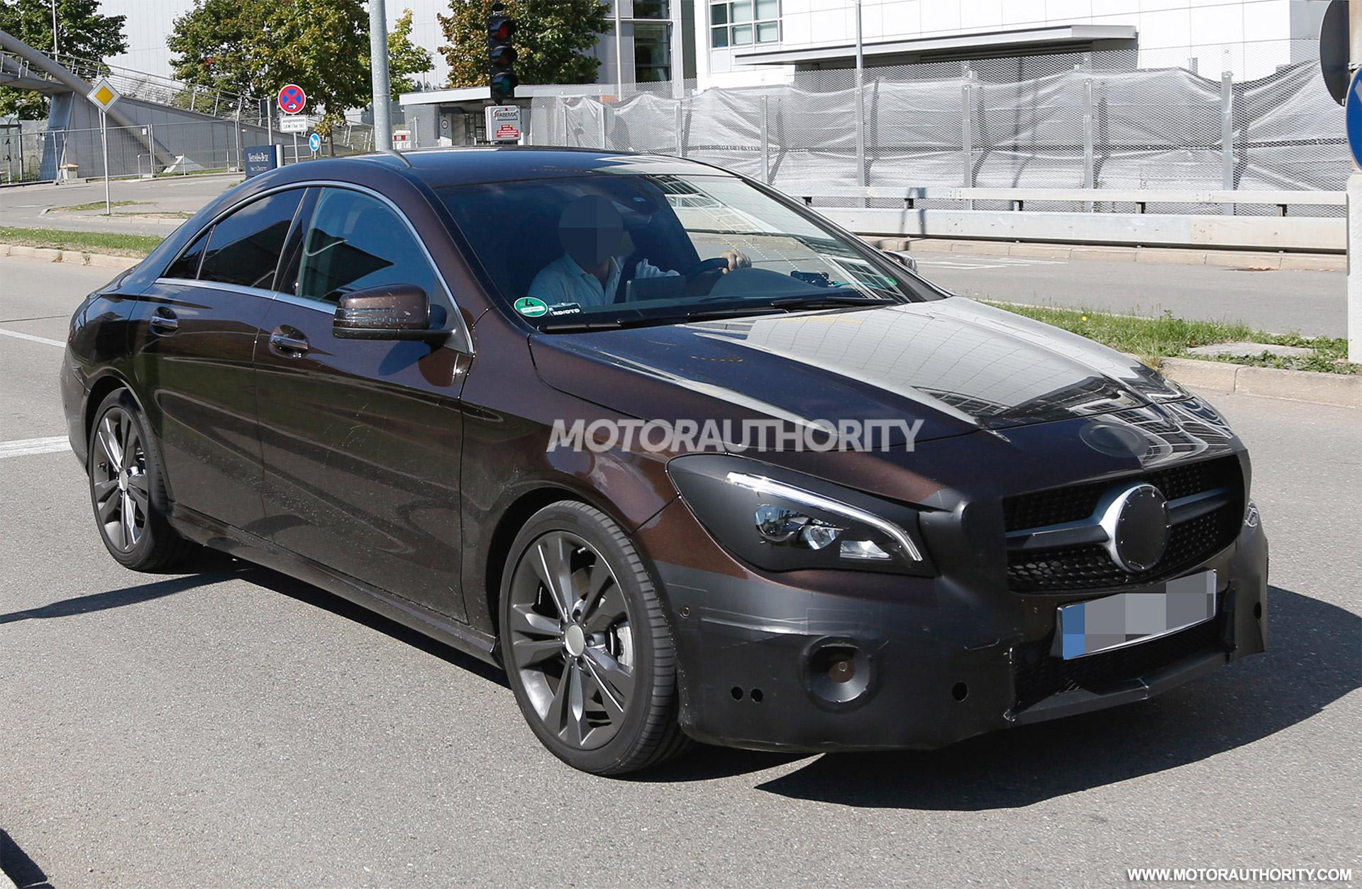2017 Mercedes Benz CLA Spy Shots