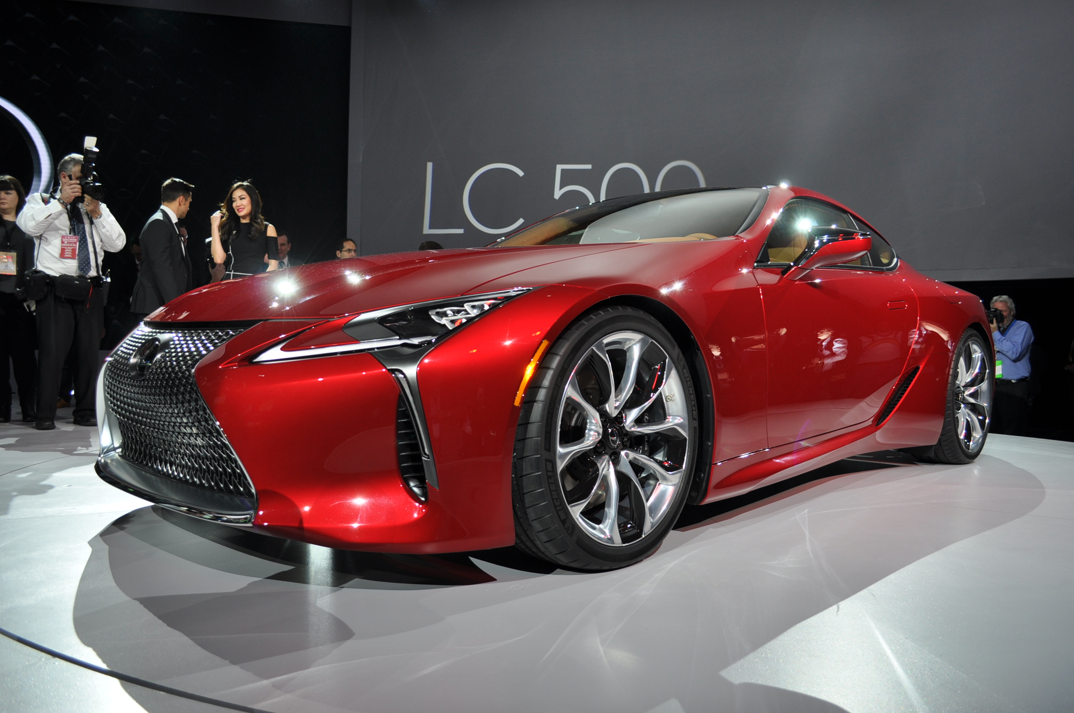 2018 Lexus LC Coupe Bows With V 8 Power 10 Speed Auto