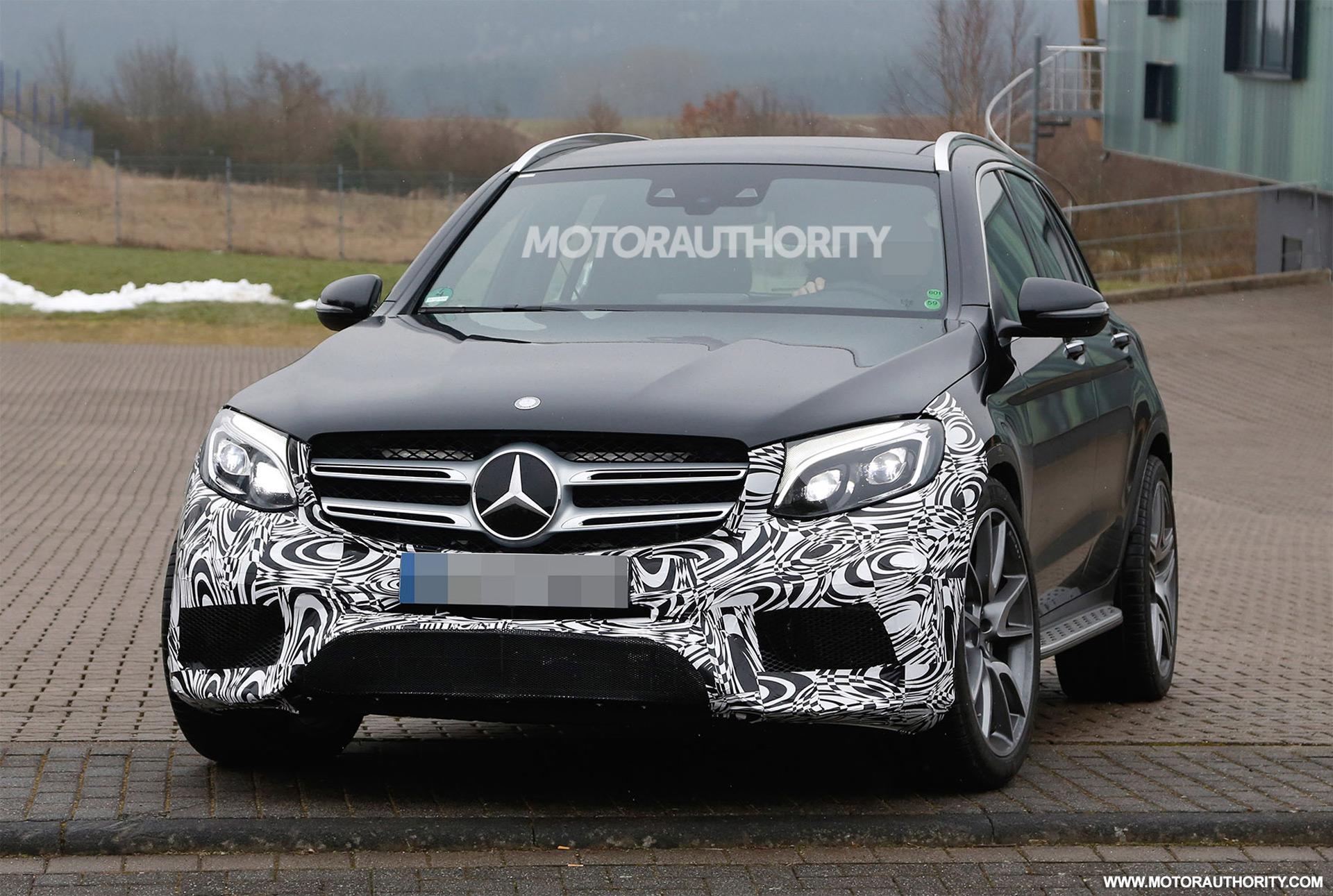 2018 Mercedes AMG GLC63 Spy Shots
