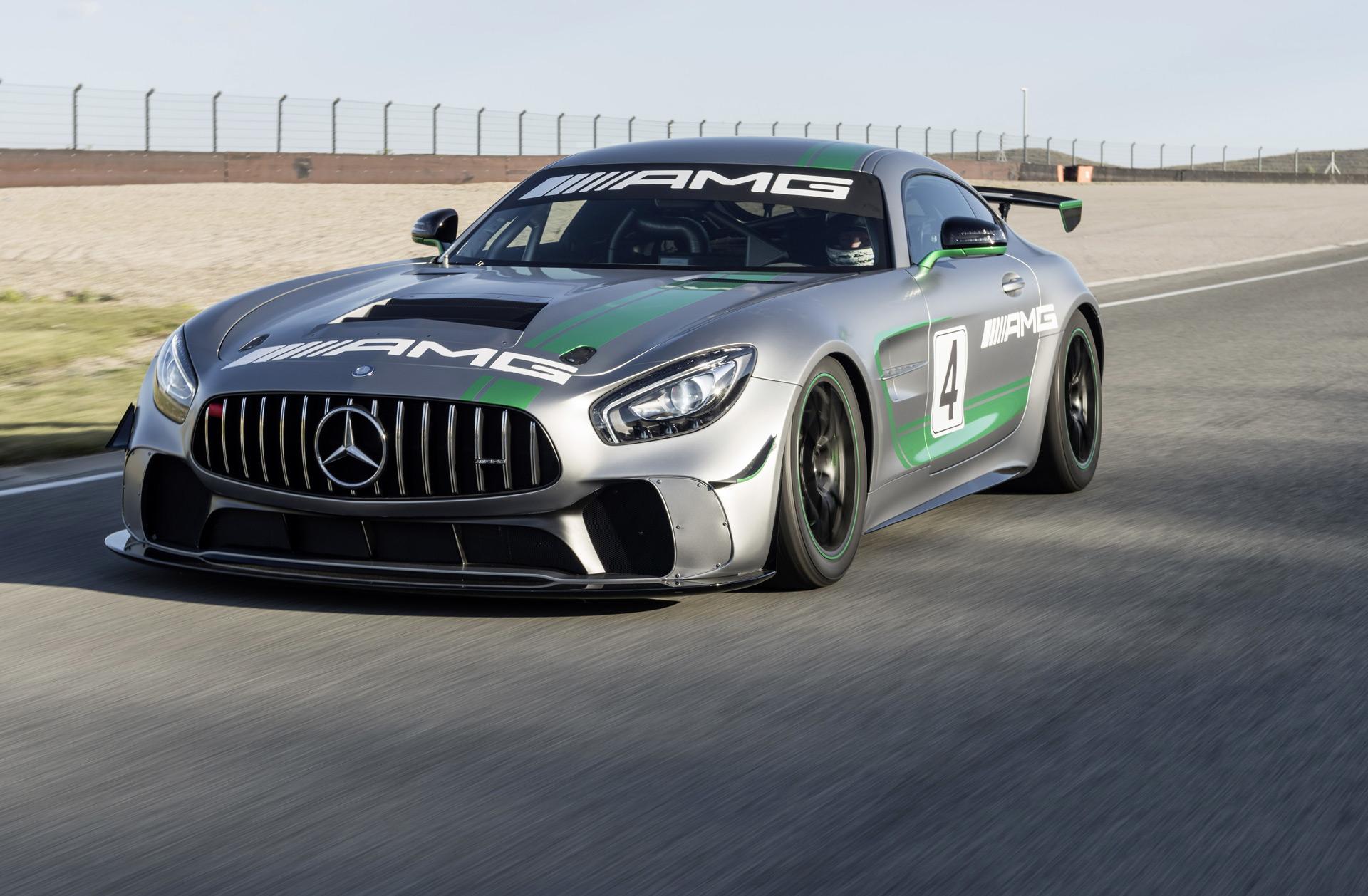 Mercedesamg Reveals Gt4 Race Car