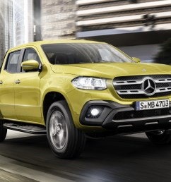 mercedes benz open to x class pickup with v 8 power [ 1920 x 1207 Pixel ]