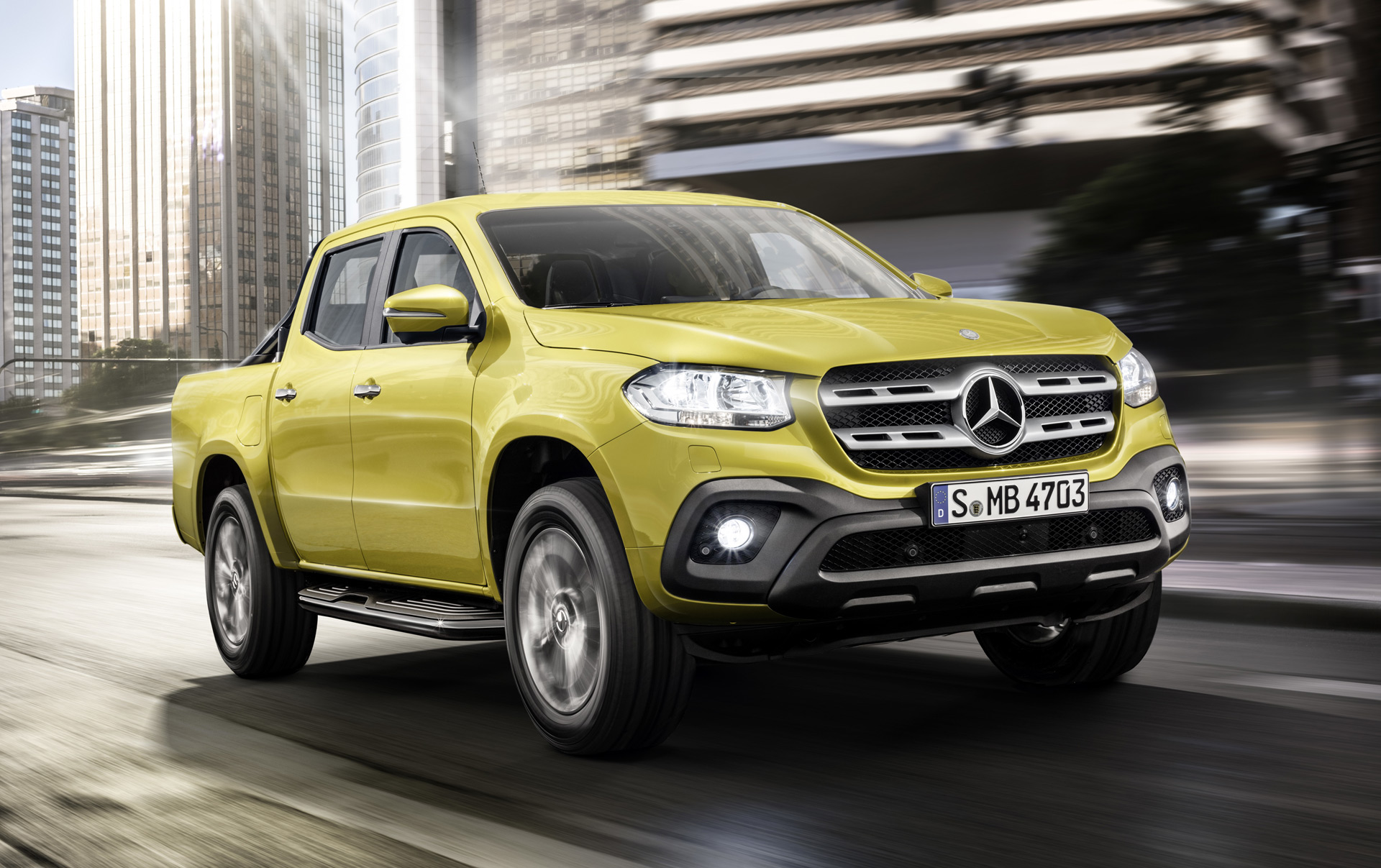 hight resolution of mercedes benz open to x class pickup with v 8 power
