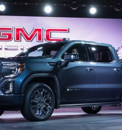 2019 gmc sierra first look new truck pushes past silverado with carbon fiber bed transforming tailgate [ 1920 x 1178 Pixel ]