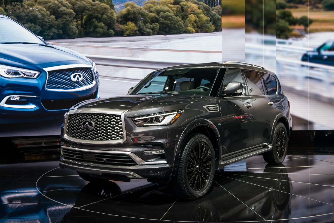 2019 infiniti qx80 review, ratings, specs, prices, and photos - the