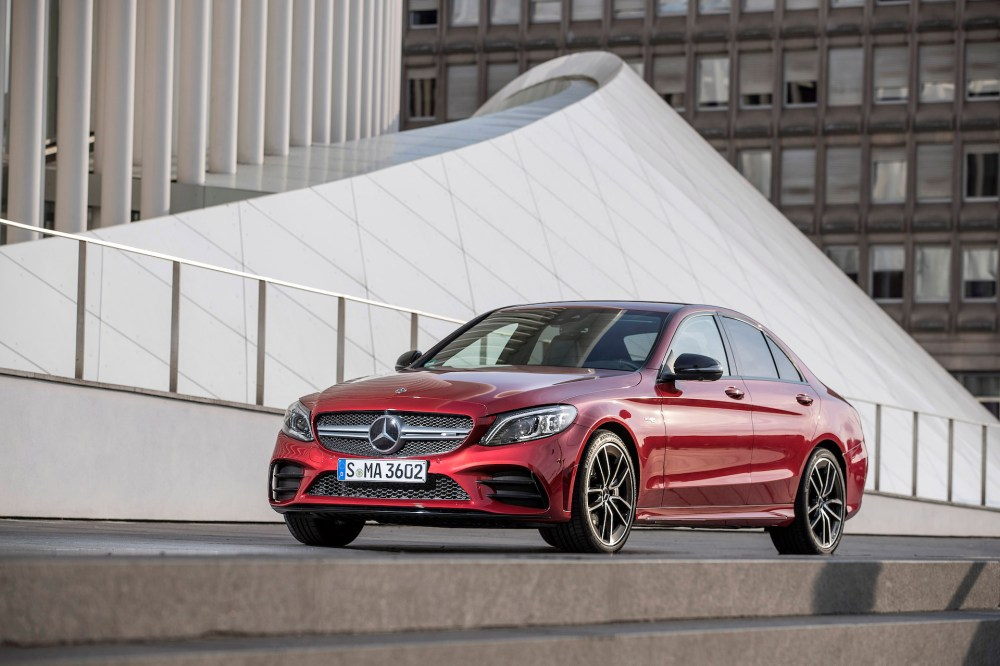 medium resolution of 2019 mercedes benz c300 and c43 first drive review subtle upgrades big safety