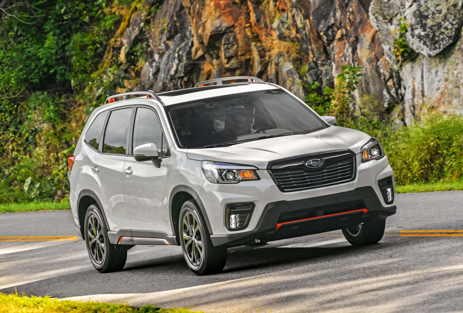 2019 Subaru Forester Sport driven Fords selfdriving