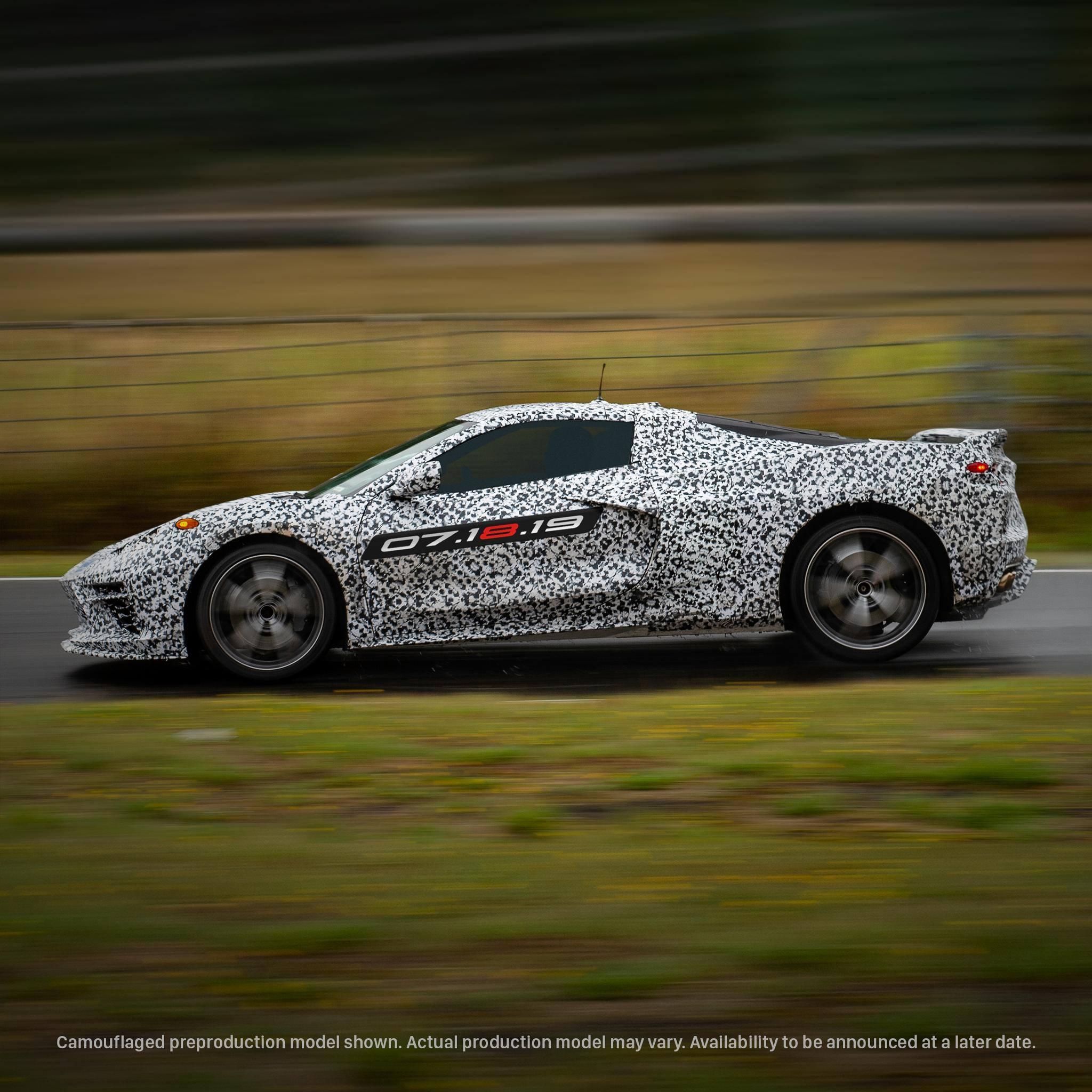 2020 corvette c8 reveal date