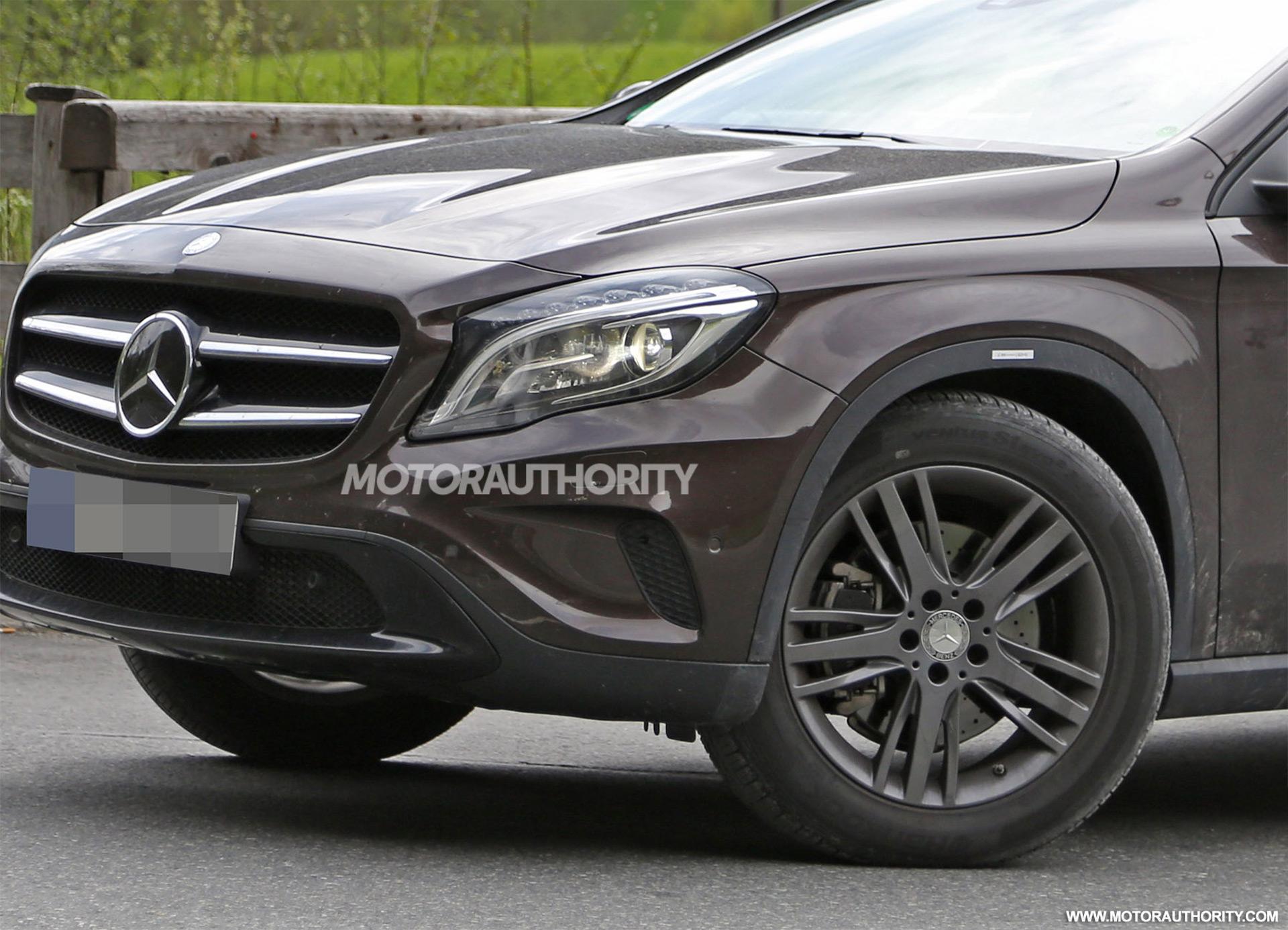 2020 Mercedes Benz Glb Spy Shots