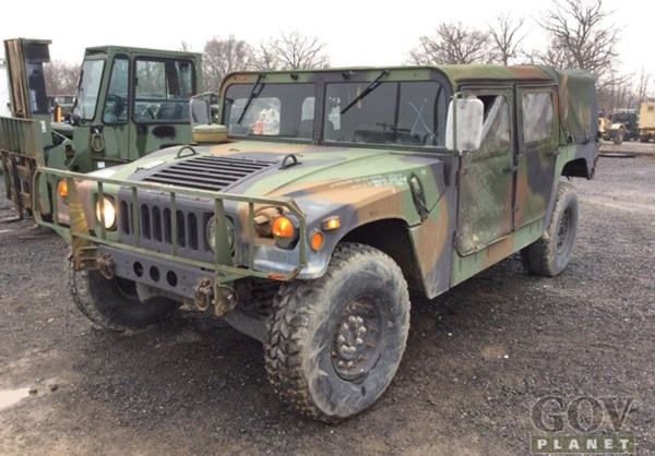 Humvee Auction Hammers Home Strong
