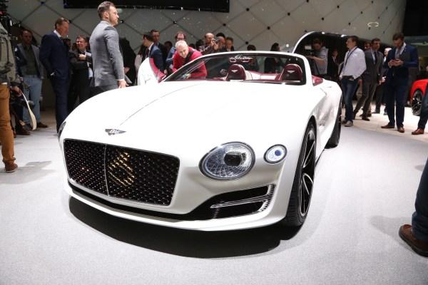 Electric Bentley Convertible Concept Shown Geneva