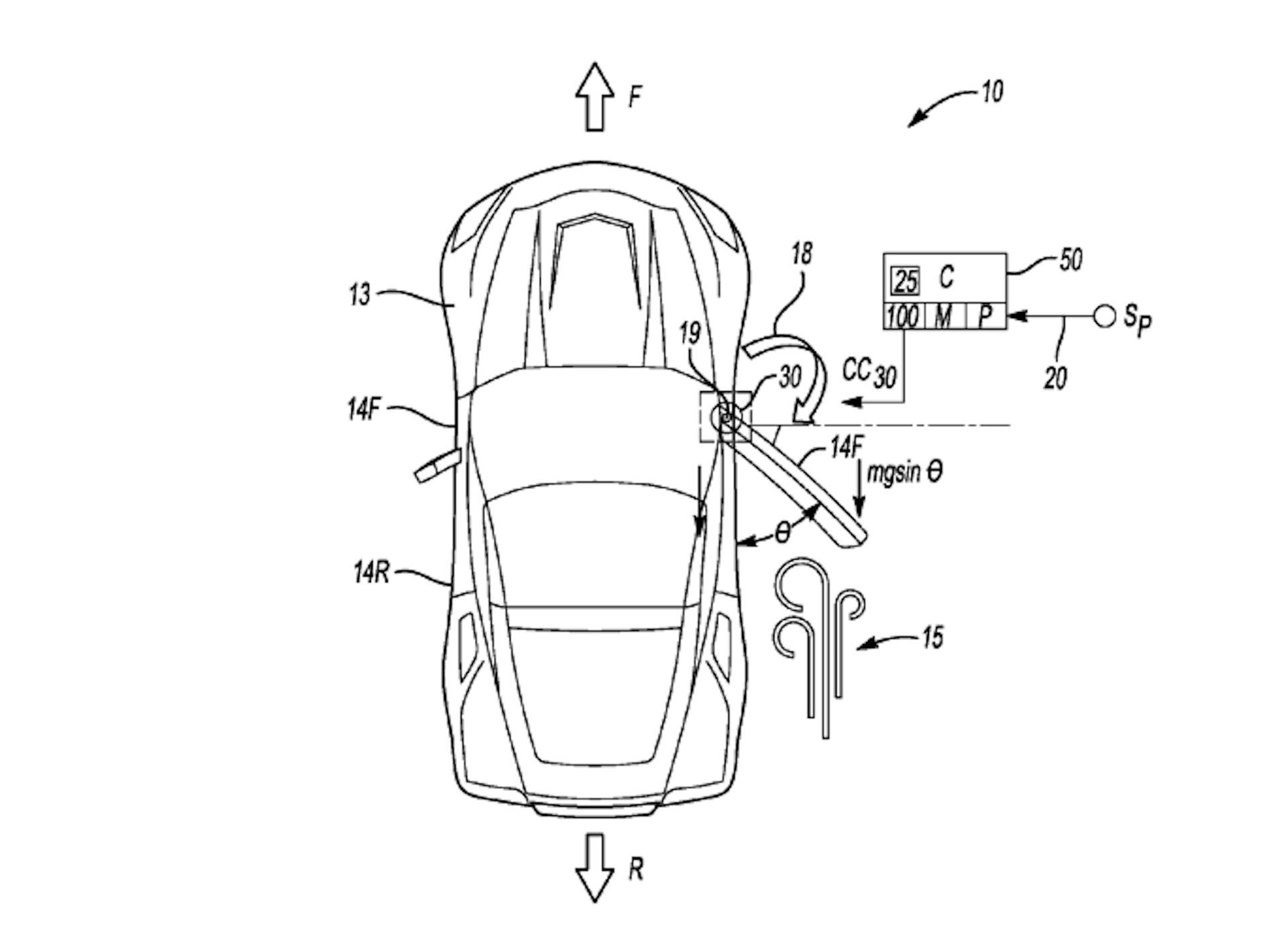 Mid Engine Corvette May Sport Intelligent Power Doors