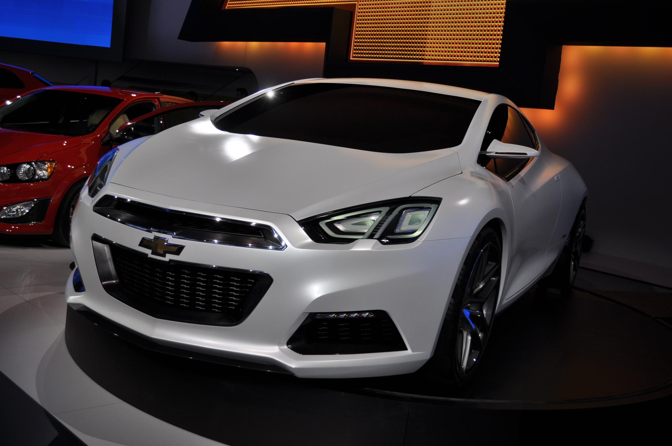 Chevrolet Tru 140s Concept Live Photos 2012 Detroit Auto Show