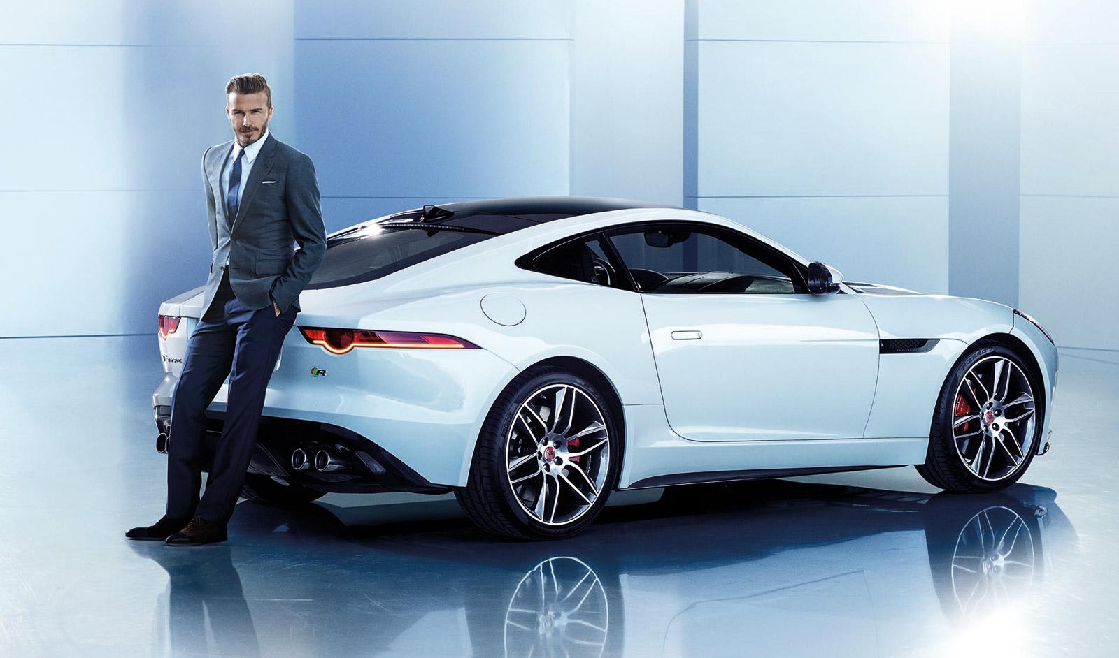 David Beckham To Serve As The Face Of Jaguar In China