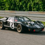 Restored Le Mans Winning 1966 Ford Gt40 Unveiled At Le Mans