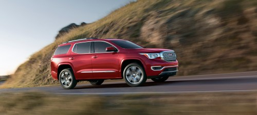 small resolution of 2017 gmc acadia compare cars