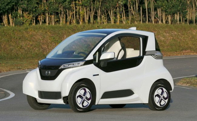 Honda Micro Commuter An Innovative Electric Car Too
