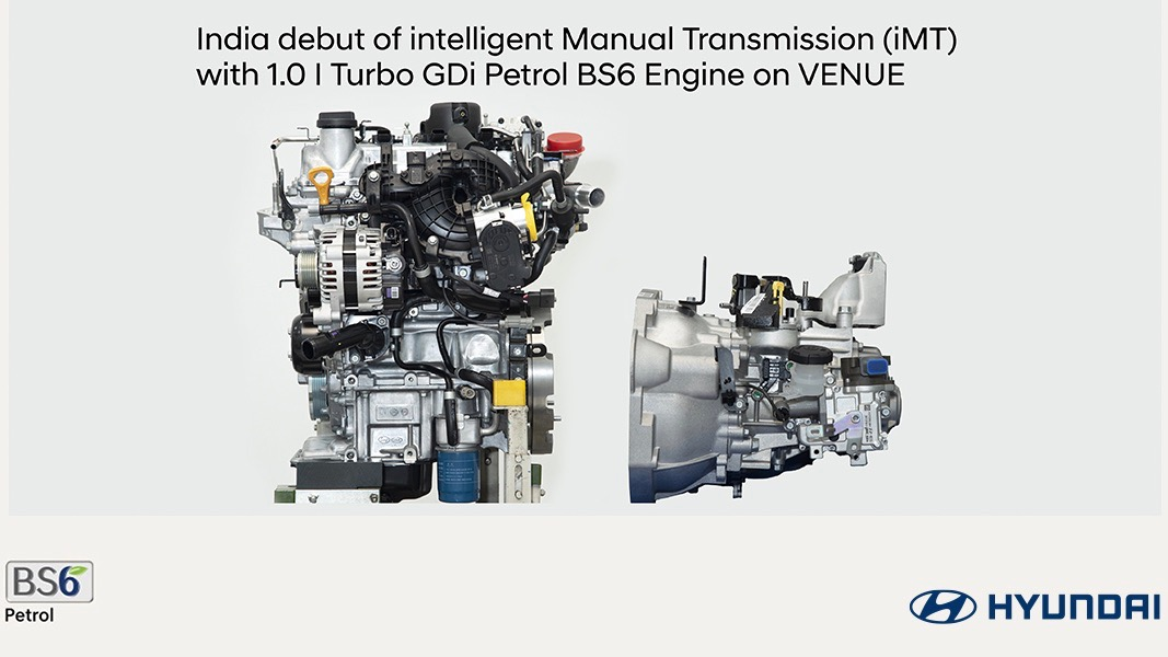 Hyundai developed a manual transmission without a clutch pedal