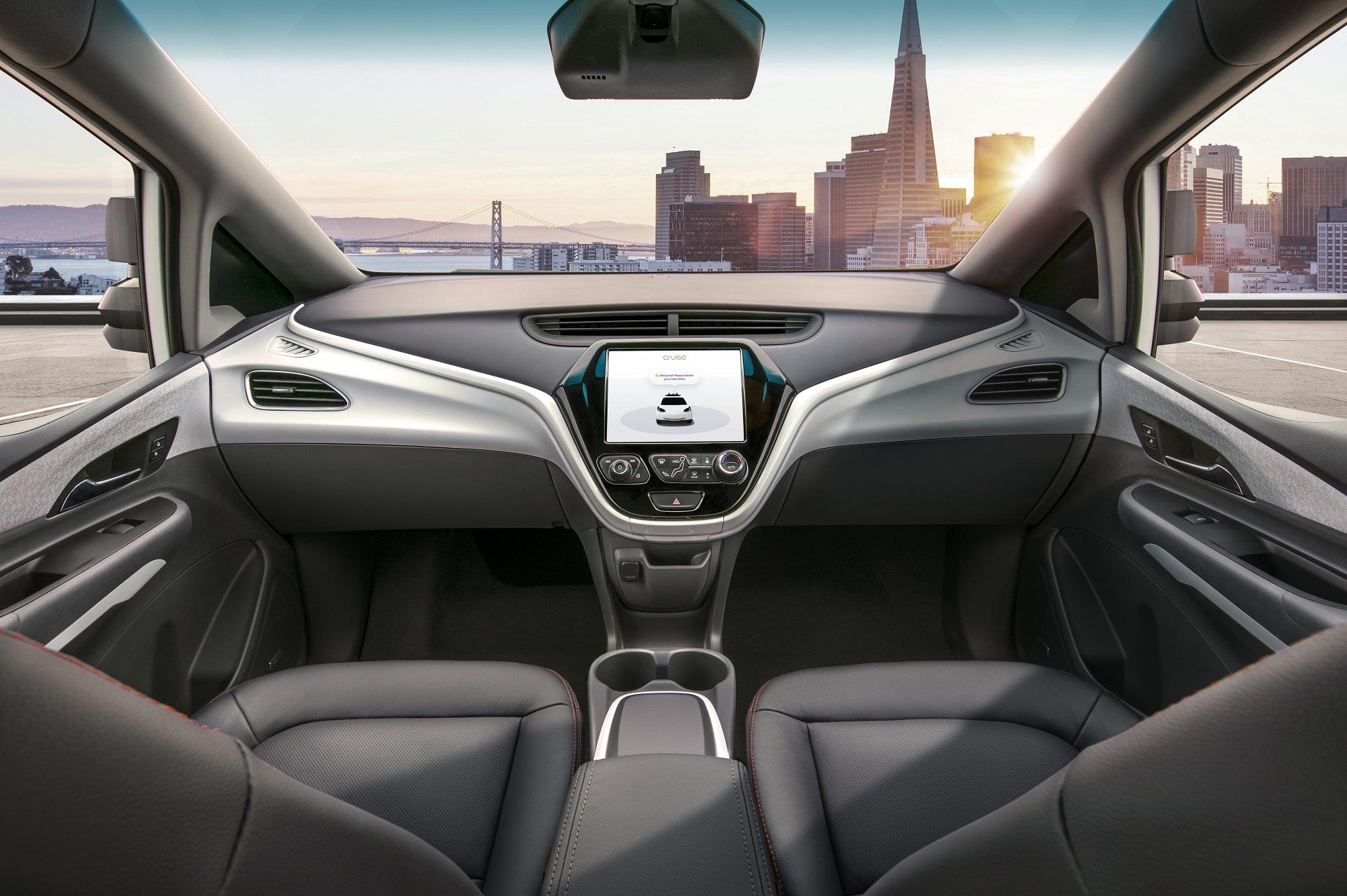 Cruise AV GMs Autonomous Electric Bolt EV To Go Into