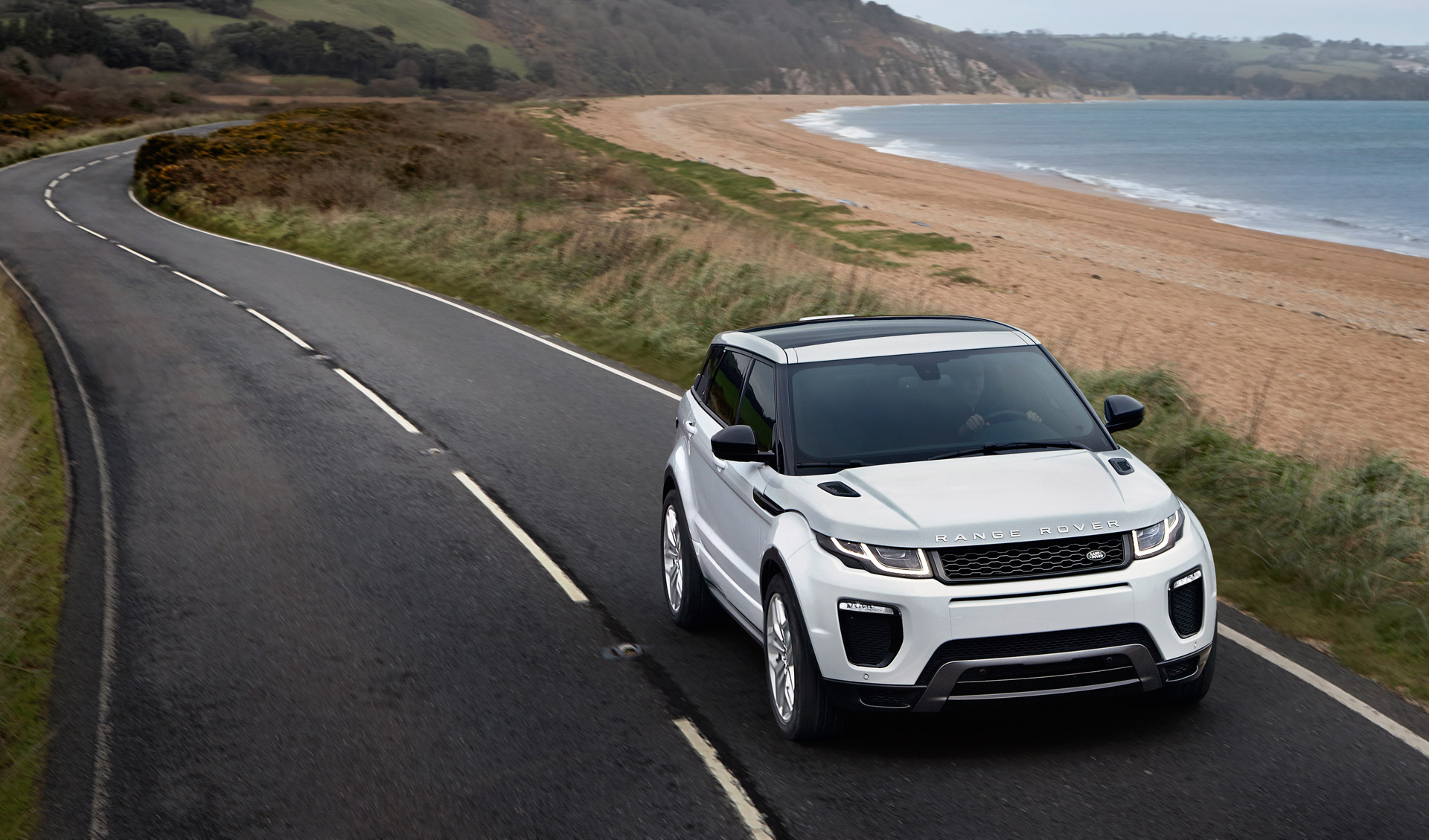 hight resolution of 2016 land rover range rover evoque revealed with led headlights new engine