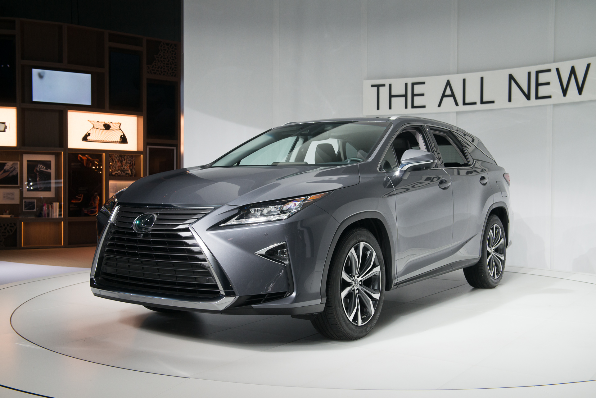 Suv With Captain Chairs 2018 Lexus Rx 450hl Hybrid Three Row Suv Priced From 51 600